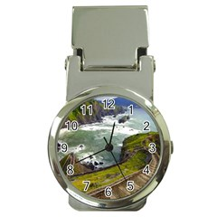 Land3 Money Clip Watch