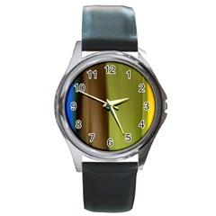 Cr3 Round Metal Watch