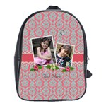 School Bag (Large) - Flowers and Lace