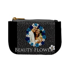 Beauty Flower By Joely   Mini Coin Purse   Y198r6i2d6ey   Www Artscow Com Front