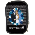 beauty flower - Compact Camera Leather Case