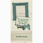 Blessings of Christmas, 4x8 photo card - 4  x 8  Photo Cards