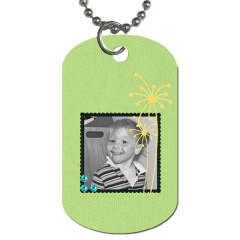Ec Dog Tag 2 By Martha Meier   Dog Tag (one Side)   Sodyhcy1ddsc   Www Artscow Com Front