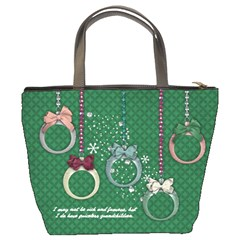 Priceless Grandchildren/ornaments Bucket Bag 2 Sides By Mikki   Bucket Bag   1cac3l2qfef4   Www Artscow Com Back