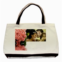 Memories (2 Sided )tote By Deborah   Basic Tote Bag (two Sides)   6jfeozyvi7nq   Www Artscow Com Back