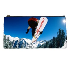 Snowboard Sport Airborne Pencil Case