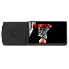 Basketball Hoops Usb Flash Drive Rectangular (4 Gb)
