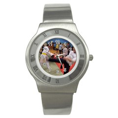 Martial Arts Stainless Steel Watch