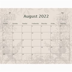 Coffee And Cream (any Year) 2017 Calendar By Deborah   Wall Calendar 11  X 8 5  (12 Months)   L3cqpfrtxo6r   Www Artscow Com Aug 2017