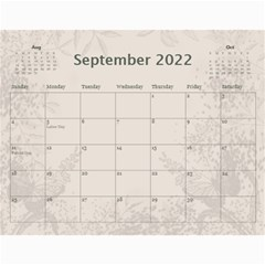 Coffee And Cream (any Year) 2017 Calendar By Deborah   Wall Calendar 11  X 8 5  (12 Months)   L3cqpfrtxo6r   Www Artscow Com Sep 2017