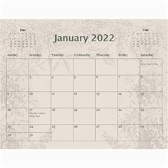 Coffee And Cream (any Year) 2017 Calendar By Deborah   Wall Calendar 11  X 8 5  (12 Months)   L3cqpfrtxo6r   Www Artscow Com Jan 2017
