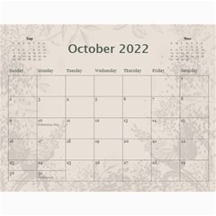 Coffee And Cream (any Year) 2017 Calendar By Deborah   Wall Calendar 11  X 8 5  (12 Months)   L3cqpfrtxo6r   Www Artscow Com Oct 2017