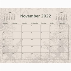 Coffee And Cream (any Year) 2017 Calendar By Deborah   Wall Calendar 11  X 8 5  (12 Months)   L3cqpfrtxo6r   Www Artscow Com Nov 2017