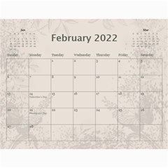 Coffee And Cream (any Year) 2017 Calendar By Deborah   Wall Calendar 11  X 8 5  (12 Months)   L3cqpfrtxo6r   Www Artscow Com Feb 2017