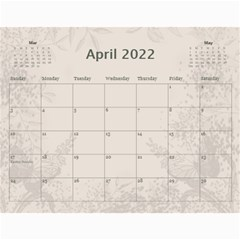 Coffee And Cream (any Year) 2017 Calendar By Deborah   Wall Calendar 11  X 8 5  (12 Months)   L3cqpfrtxo6r   Www Artscow Com Apr 2017