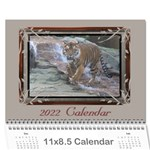 Cream classic 2013(any Year) Calendar - Wall Calendar 11 x 8.5 (12-Months)