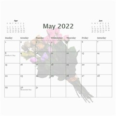 Roses For You (any Year) 2018 Calendar By Deborah   Wall Calendar 11  X 8 5  (12 Months)   5b8lrd35djoj   Www Artscow Com May 2018