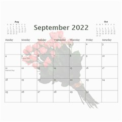 Roses For You (any Year) 2018 Calendar By Deborah   Wall Calendar 11  X 8 5  (12 Months)   5b8lrd35djoj   Www Artscow Com Sep 2018
