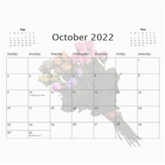 Roses For You (any Year) 2018 Calendar By Deborah   Wall Calendar 11  X 8 5  (12 Months)   5b8lrd35djoj   Www Artscow Com Oct 2018
