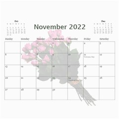 Roses For You (any Year) 2018 Calendar By Deborah   Wall Calendar 11  X 8 5  (12 Months)   5b8lrd35djoj   Www Artscow Com Nov 2018