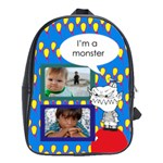 School bag large - MONSTER - School Bag (Large)