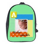School bag large - A it s for adorable - School Bag (Large)