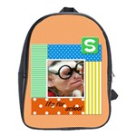 School bag large - S it s for school - School Bag (Large)