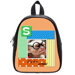 School bag small - S it s for school - School Bag (Small)