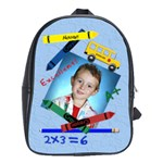 Back To School Large School Bag - School Bag (Large)