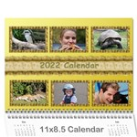Tutti general purpose (any Year) Calendar 2013 - Wall Calendar 11 x 8.5 (12-Months)