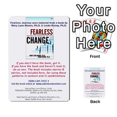 Fearless Journey Strategy Cards V1 0 By Deborah   Multi Purpose Cards (rectangle)   Nfc7p8at3k1b   Www Artscow Com Back 52