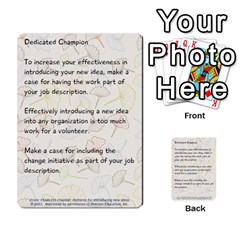 Fearless Journey Strategy Cards V1 0 By Deborah   Multi Purpose Cards (rectangle)   Nfc7p8at3k1b   Www Artscow Com Front 9