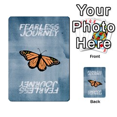 Fearless Journey Strategy Cards V1 0 By Deborah   Multi Purpose Cards (rectangle)   Nfc7p8at3k1b   Www Artscow Com Back 9