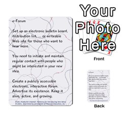 Fearless Journey Strategy Cards V1 0 By Deborah   Multi Purpose Cards (rectangle)   Nfc7p8at3k1b   Www Artscow Com Front 11