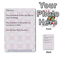Fearless Journey Strategy Cards V1 0 By Deborah   Multi Purpose Cards (rectangle)   Nfc7p8at3k1b   Www Artscow Com Front 16