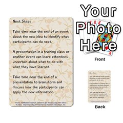 Fearless Journey Strategy Cards V1 0 By Deborah   Multi Purpose Cards (rectangle)   Nfc7p8at3k1b   Www Artscow Com Front 28