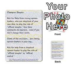 Fearless Journey Strategy Cards V1 0 By Deborah   Multi Purpose Cards (rectangle)   Nfc7p8at3k1b   Www Artscow Com Front 5