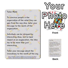 Fearless Journey Strategy Cards V1 0 By Deborah   Multi Purpose Cards (rectangle)   Nfc7p8at3k1b   Www Artscow Com Front 41