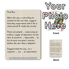 Fearless Journey Strategy Cards V1 0 By Deborah   Multi Purpose Cards (rectangle)   Nfc7p8at3k1b   Www Artscow Com Front 45