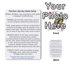 Fearless Journey Strategy Cards V1 0 By Deborah   Multi Purpose Cards (rectangle)   Nfc7p8at3k1b   Www Artscow Com Front 50