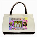 Jesus saves bag - Basic Tote Bag