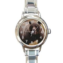 Bear2 Round Italian Charm Watch by designergaze