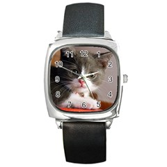 Cat1 Square Metal Watch