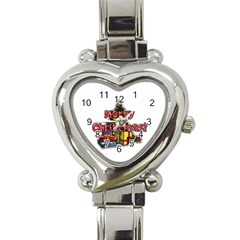 Xmas1 Heart Italian Charm Watch