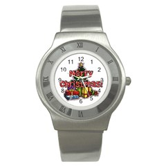 Xmas1 Stainless Steel Watch