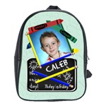 Pencils & Crayons Large School Bag - School Bag (Large)