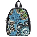 small blue school bag - School Bag (Small)