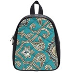 peacock school bag - School Bag (Small)