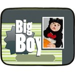 big boy - Double Sided Fleece Blanket (Mini)