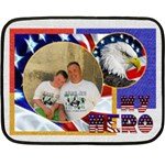My Hero US Military Mini Fleece - Fleece Blanket (Mini)